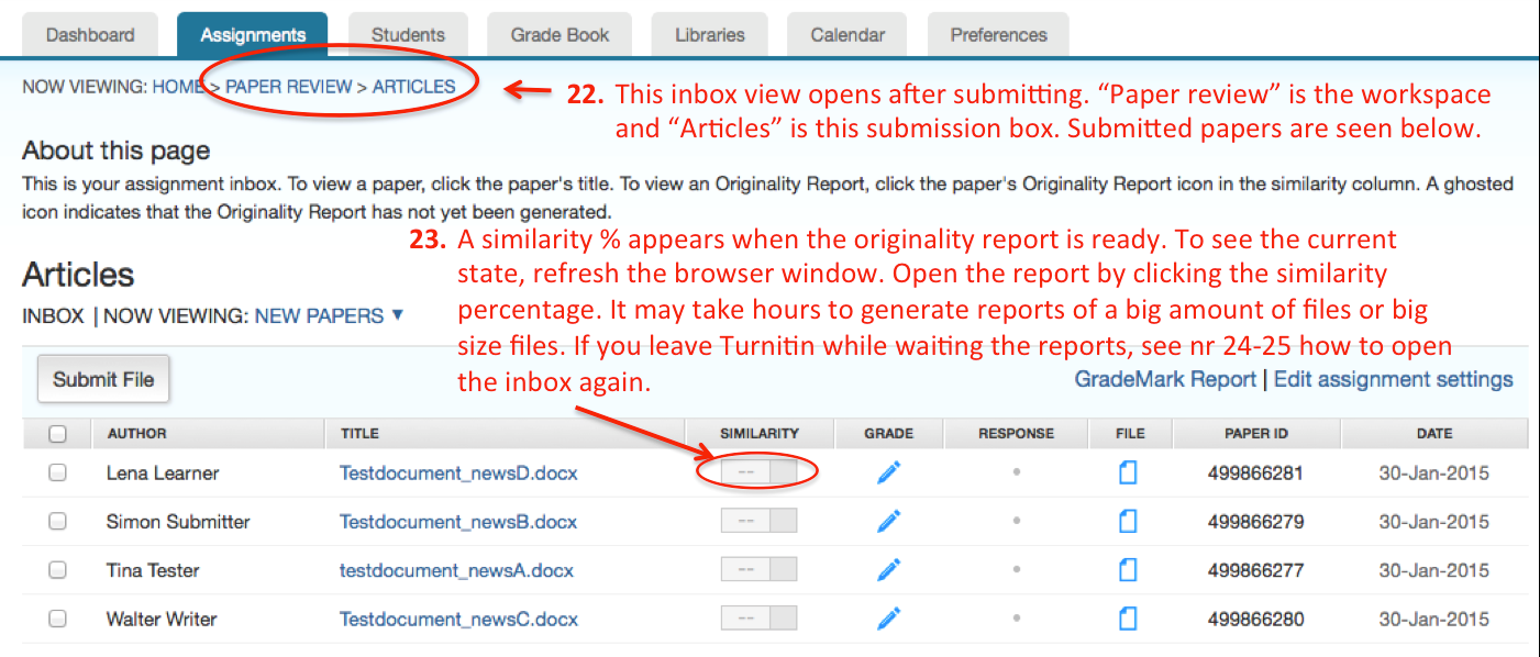 check my paper for plagiarism turnitin Double-check that you've correctly cited all of your sources after you write if you want to double-check that you've done it right once your paper is finished, there are some free plagiarism checkers available.