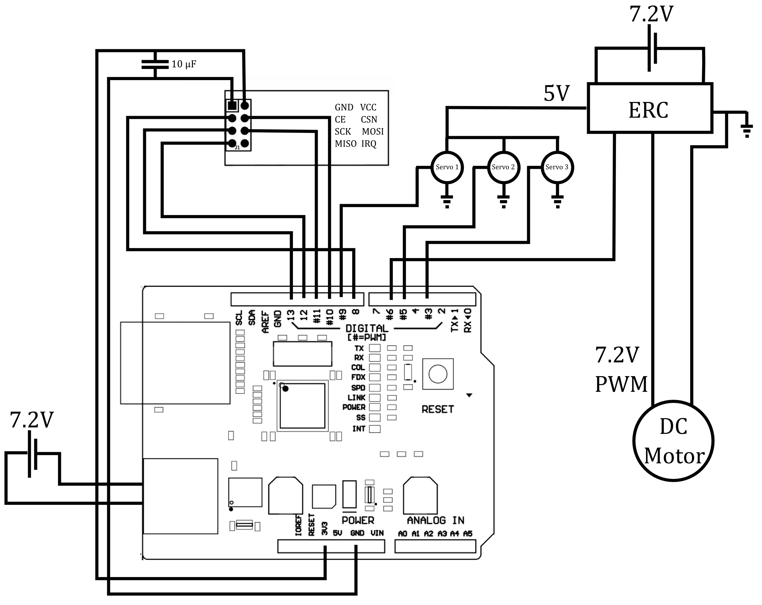 Pc Racing Set Controlled Rc Car With Video Streaming Mechatronics In Circuit As Well Battery Watt Meter Schematic Additionally Dc File Receiver