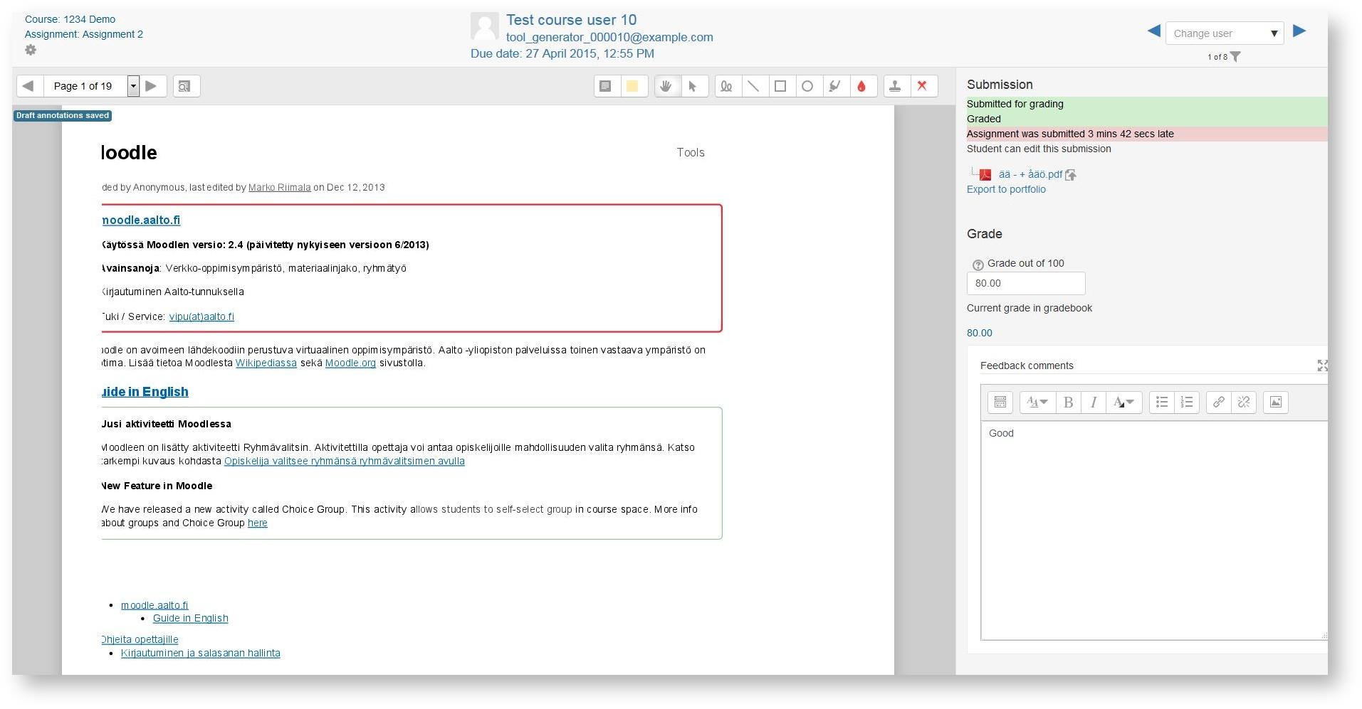 MyCourses Instructions for Teachers - OPIT - Aalto University Wiki