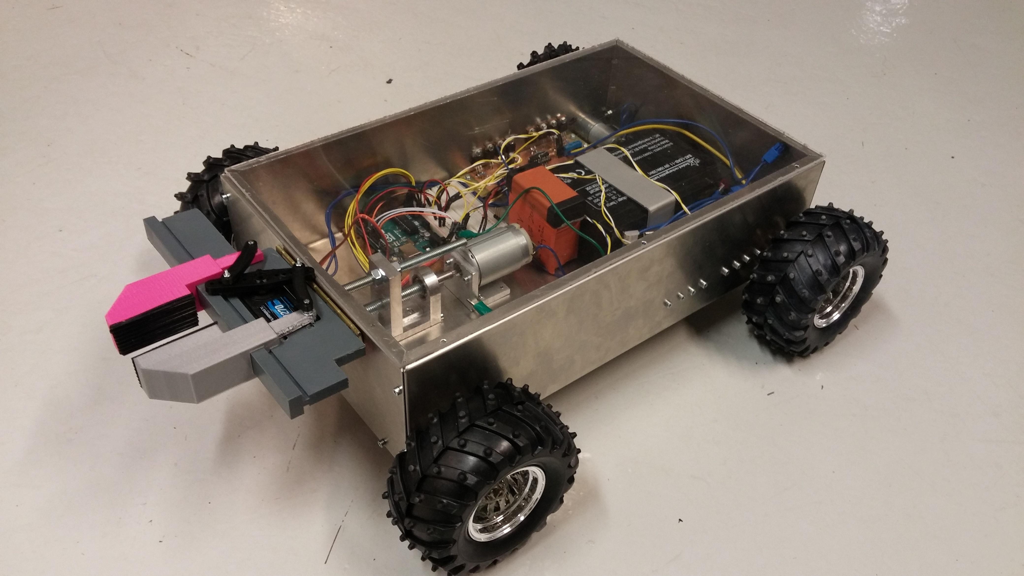 Noutaja 9000 - Autonomous differential photosensor array