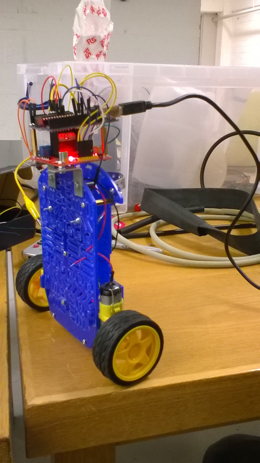 Self-balancing robot - Mechatronics Exercises - Aalto University Wiki