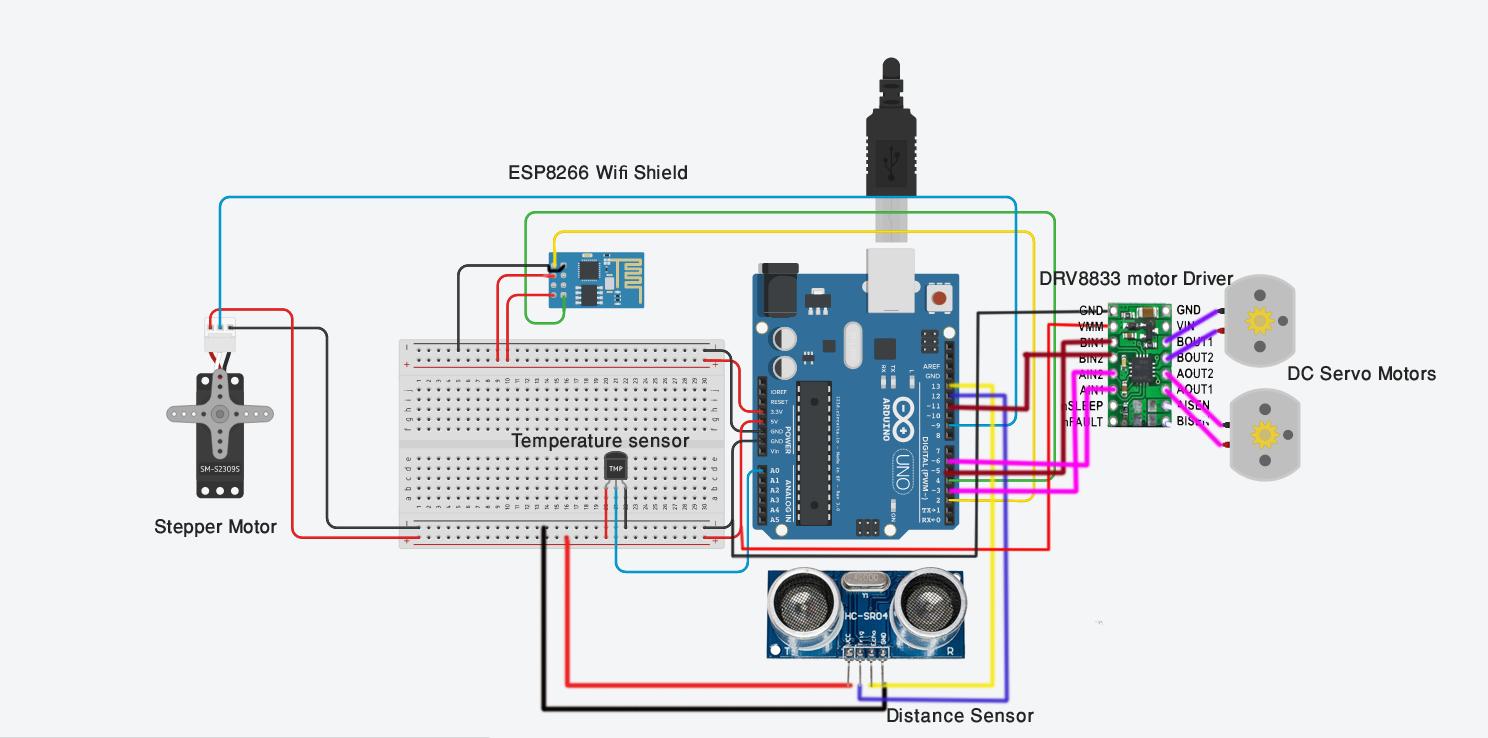 Iot Duster - Mechatronics Exercises