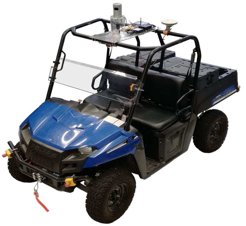 Building a Simulation Platform for Polaris e-ATV in ROS using Gazebo