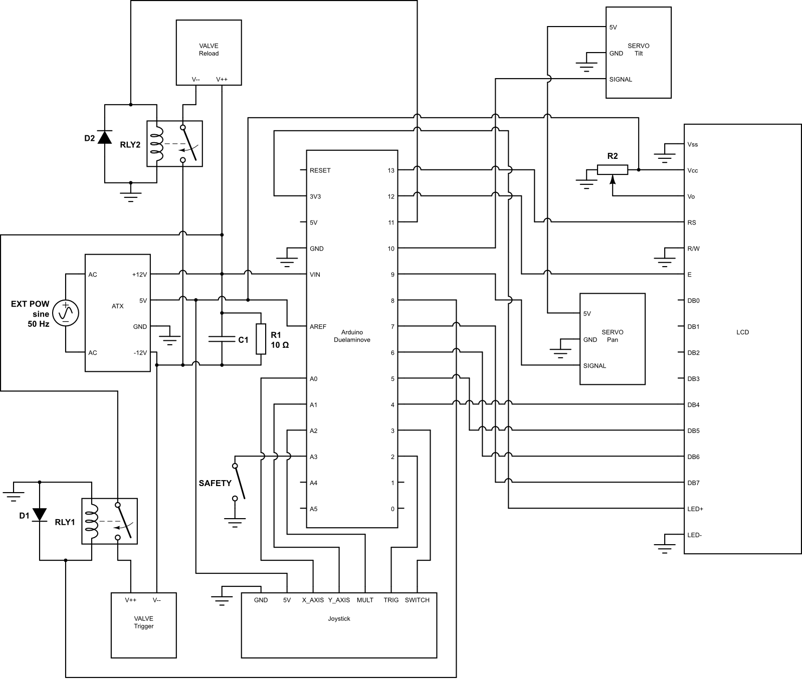 Ping Pong Ball Cannon Mechatronics Exercises Aalto University Wiki Download The Schematic In Pdf Format File Untitled