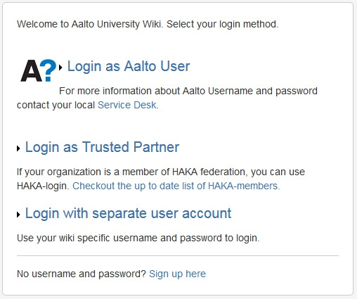 971f313199da Quick Guide for Wiki Users - Instructions for Aalto Wiki - Aalto ...